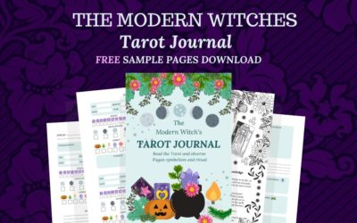 Witch's Tarot Journal FREE Sample Pages